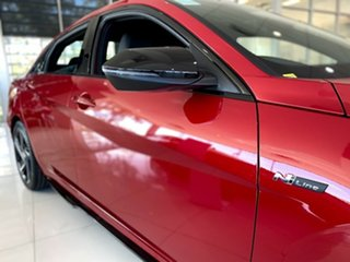 2021 Hyundai i30 CN7.V1 MY21 N Line D-CT Special Edition Fiery Red 7 Speed
