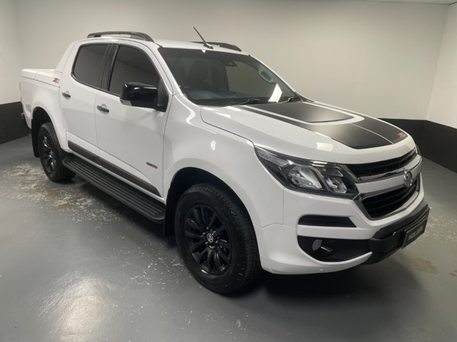 Used Holden Colorado RG MY17 Z71 Pickup Crew Cab Cardiff, 2017 Holden Colorado RG MY17 Z71 Pickup Crew Cab White 6 Speed Sports Automatic Utility