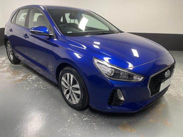 Used Hyundai i30 PD2 MY19 Active Hamilton, 2019 Hyundai i30 PD2 MY19 Active Blue 6 Speed Sports Automatic Hatchback
