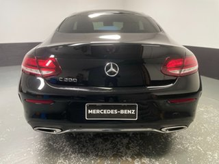2019 Mercedes-Benz C-Class C205 800+050MY C200 9G-Tronic Black 9 Speed Sports Automatic Coupe
