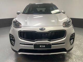 2018 Kia Sportage QL MY18 GT-Line AWD Silver 6 Speed Sports Automatic Wagon.