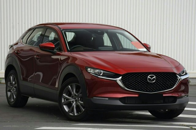 New Mazda CX-30 DM2W7A G20 SKYACTIV-Drive Touring Newstead, 2021 Mazda CX-30 DM2W7A G20 SKYACTIV-Drive Touring Soul Red Crystal 6 Speed Sports Automatic Wagon