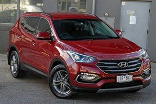 2017 Hyundai Santa Fe DM3 MY17 Active Red 6 Speed Sports Automatic Wagon.