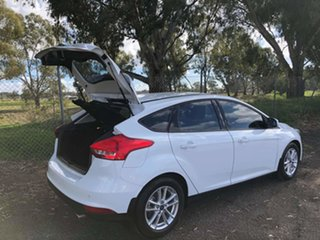 2018 Ford Focus LZ Trend White 6 Speed Automatic Hatchback.