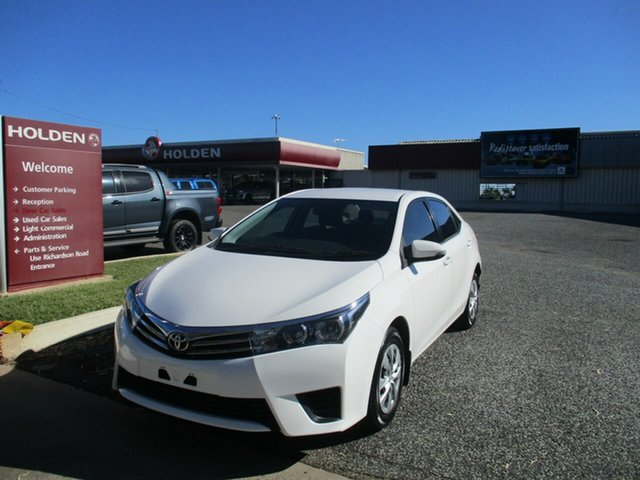 Used Toyota Corolla ZRE172R Ascent S-CVT North Rockhampton, 2015 Toyota Corolla ZRE172R Ascent S-CVT White 7 Speed Constant Variable Sedan
