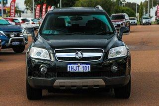 2010 Holden Captiva CG MY10 LX AWD Black 5 Speed Sports Automatic Wagon