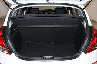 2015 Hyundai i20 PB MY16 Active White 4 Speed Automatic Hatchback