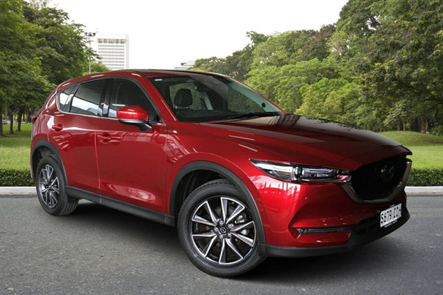 Used Mazda CX-5 KF4WLA Akera SKYACTIV-Drive i-ACTIV AWD Paradise, 2018 Mazda CX-5 KF4WLA Akera SKYACTIV-Drive i-ACTIV AWD Red 6 Speed Sports Automatic Wagon