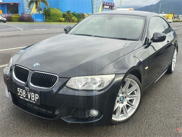 Used BMW 3 Series E92 MY10 320d Steptronic Bungalow, 2010 BMW 3 Series E92 MY10 320d Steptronic Black 6 Speed Sports Automatic Coupe