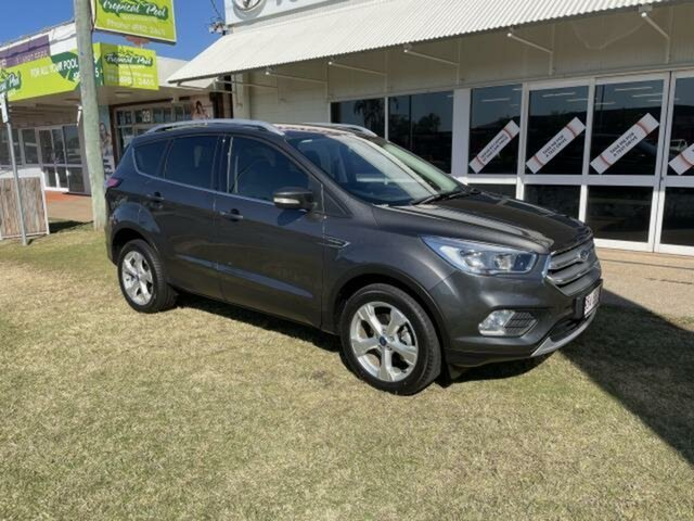 Pre-Owned Ford Escape ZG MY18 Trend (FWD) Emerald, 2018 Ford Escape ZG MY18 Trend (FWD) Grey 6 Speed Automatic SUV