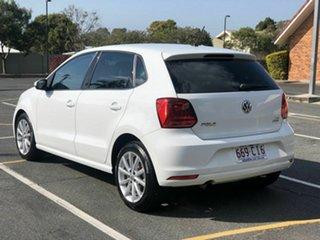 2017 Volkswagen Polo 6R MY17.5 81TSI DSG Urban+ White 7 Speed Sports Automatic Dual Clutch Hatchback.