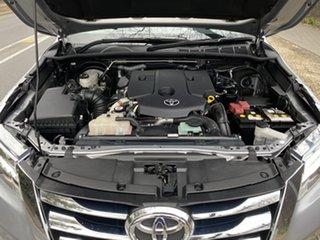 2017 Toyota Fortuner GUN156R Crusade Silver 6 Speed Automatic Wagon.