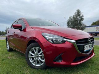 2018 Mazda 2 DJ2HAA Maxx SKYACTIV-Drive Red 6 Speed Sports Automatic Hatchback.