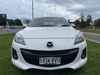 2012 Mazda 3 BL10F2 Maxx Sport White 6 Speed Manual Hatchback.