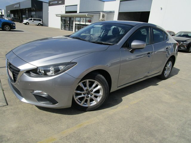 Used Mazda 3 BM5278 Maxx SKYACTIV-Drive Caboolture, 2014 Mazda 3 BM5278 Maxx SKYACTIV-Drive Silver 6 Speed Sports Automatic Sedan