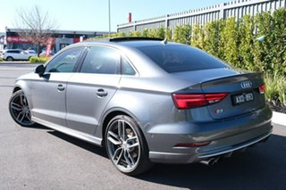 2018 Audi S3 8V MY18 Limited Edition S Tronic Quattro Grey 7 Speed Sports Automatic Dual Clutch.