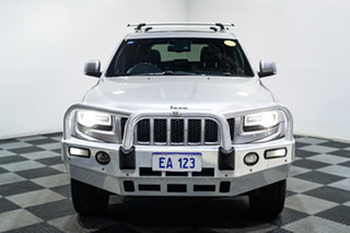2014 Jeep Grand Cherokee WK MY2014 Overland Silver 8 Speed Sports Automatic Wagon.