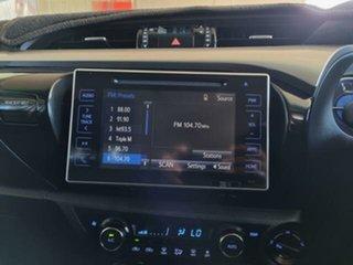 2018 Toyota Hilux GUN126R MY17 SR5 (4x4) Graphite 6 Speed Automatic Dual Cab Utility