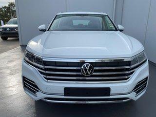2021 Volkswagen Touareg CR MY21 170TDI Tiptronic 4MOTION Pure White 8 Speed Sports Automatic Wagon.