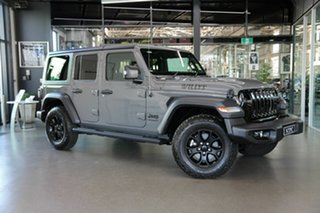 2021 Jeep Wrangler JL MY21 Unlimited Willys Grey 8 Speed Automatic Hardtop.