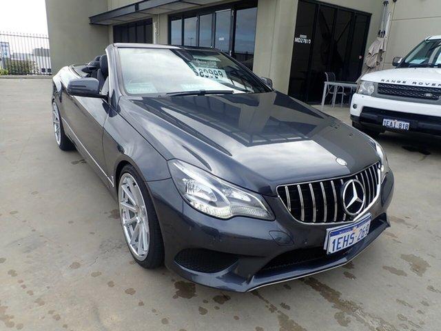 Used Mercedes-Benz E200 207 MY13 Wangara, 2013 Mercedes-Benz E200 207 MY13 Silver Leaf 7 Speed Automatic Cabriolet