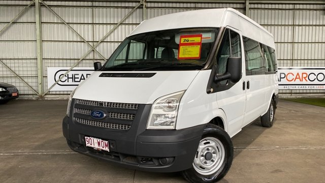 Used Ford Transit VM 350 High Roof Rocklea, 2011 Ford Transit VM 350 High Roof Red 6 Speed Manual Van