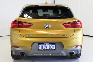 2018 BMW X2 F39 sDrive20i Coupe DCT Steptronic M Sport Gold 7 Speed Sports Automatic Dual Clutch