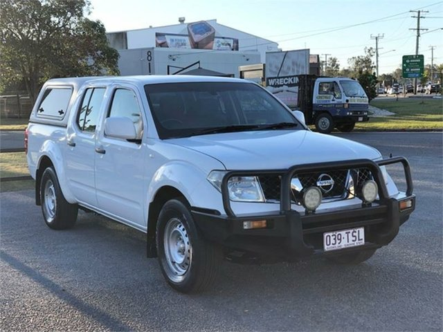 Used Nissan Navara D40 S8 RX Archerfield, 2014 Nissan Navara D40 S8 RX White 5 Speed Automatic Utility