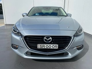 2016 Mazda 3 BN5238 SP25 SKYACTIV-Drive GT Silver 6 Speed Sports Automatic Sedan.