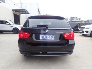 2011 BMW 320d E91 MY11 Touring Lifestyle Black Metallic 6 Speed Auto Steptronic Wagon