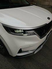 2021 Kia Carnival KA4 MY21 SLi Snow White Pearl 8 Speed Sports Automatic Wagon.