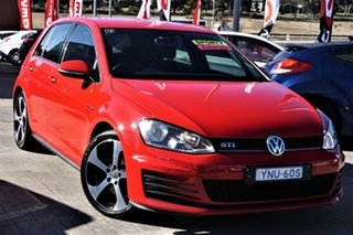 2014 Volkswagen Golf VII MY14 GTI DSG Red 6 Speed Sports Automatic Dual Clutch Hatchback.