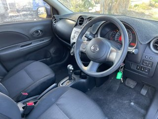 2011 Nissan Micra K13 ST Silver 4 Speed Automatic Hatchback