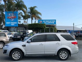 2016 Ford Territory SZ MkII TX Silver 6 Speed Sports Automatic Wagon