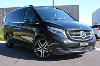 2016 Mercedes-Benz V-Class 447 V250 d 7G-Tronic + Avantgarde Black 7 Speed Sports Automatic Wagon.