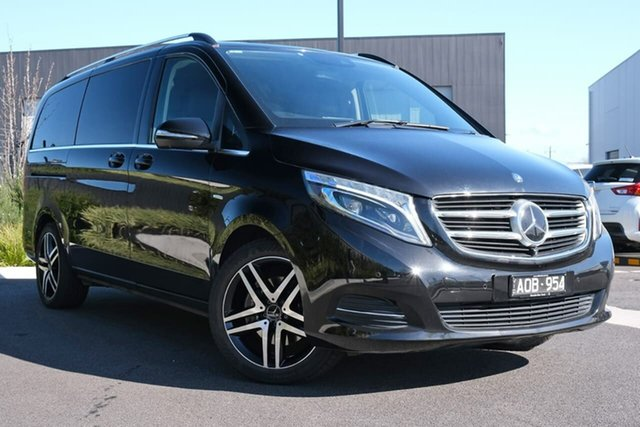 Used Mercedes-Benz V-Class 447 V250 d 7G-Tronic + Avantgarde Essendon Fields, 2016 Mercedes-Benz V-Class 447 V250 d 7G-Tronic + Avantgarde Black 7 Speed Sports Automatic Wagon