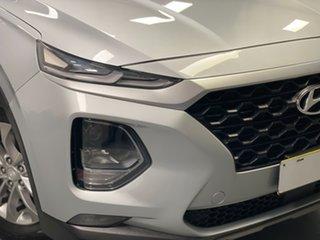 2018 Hyundai Santa Fe TM MY19 Active Silver 8 Speed Sports Automatic Wagon.