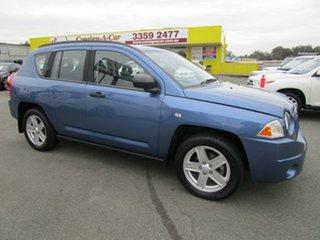 2007 Jeep Compass MK Sport CVT Auto Stick Blue 6 Speed Constant Variable Wagon.