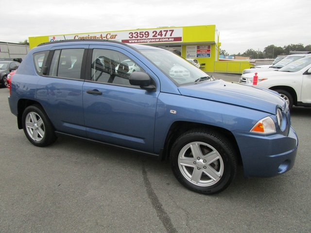 Used Jeep Compass MK Sport CVT Auto Stick Kedron, 2007 Jeep Compass MK Sport CVT Auto Stick Blue 6 Speed Constant Variable Wagon