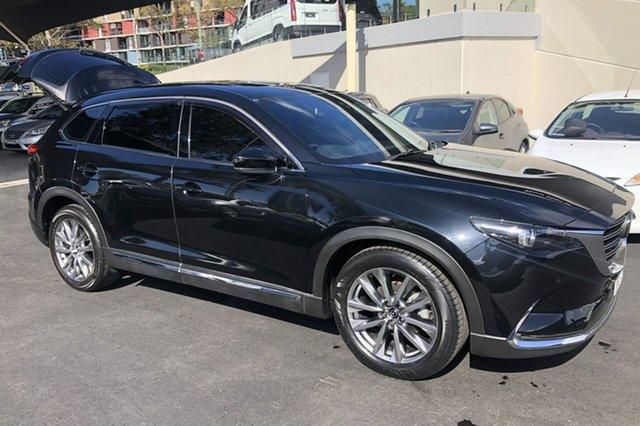 Used Mazda CX-9 MY16 Azami (FWD) Zetland, 2017 Mazda CX-9 MY16 Azami (FWD) Black 6 Speed Automatic Wagon