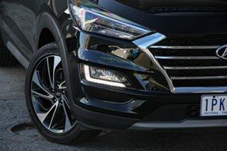 2019 Hyundai Tucson TL3 MY19 Highlander D-CT AWD Black 7 Speed Sports Automatic Dual Clutch Wagon.