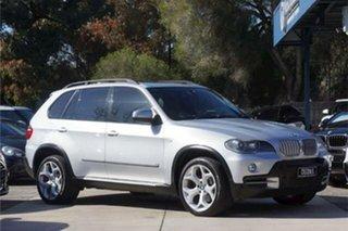 2008 BMW X5 E70 MY09 xDrive48i Steptronic Silver 6 Speed Sports Automatic Wagon.