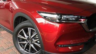 2018 Mazda CX-5 KF4WLA Akera SKYACTIV-Drive i-ACTIV AWD Red 6 Speed Sports Automatic Wagon.