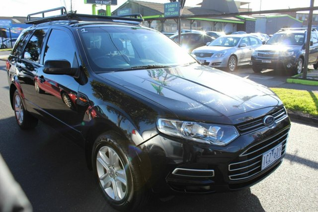 Used Ford Territory SZ TX Seq Sport Shift West Footscray, 2014 Ford Territory SZ TX Seq Sport Shift Black 6 Speed Sports Automatic Wagon