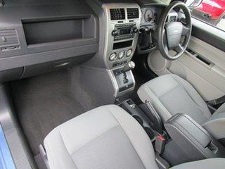 2007 Jeep Compass MK Sport CVT Auto Stick Blue 6 Speed Constant Variable Wagon