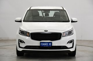 2020 Kia Carnival YP MY20 S Clear White 8 Speed Sports Automatic Wagon.