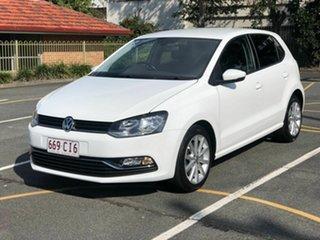 2017 Volkswagen Polo 6R MY17.5 81TSI DSG Urban+ White 7 Speed Sports Automatic Dual Clutch Hatchback