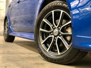 2015 Mitsubishi Lancer CJ MY15 XLS Blue 6 Speed Constant Variable Sedan