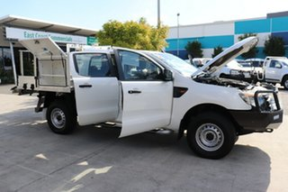 2012 Ford Ranger PX XL Cool White 6 speed Automatic Cab Chassis