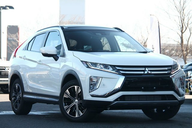 Used Mitsubishi Eclipse Cross YA MY20 Exceed AWD Essendon North, 2020 Mitsubishi Eclipse Cross YA MY20 Exceed AWD White 8 Speed Constant Variable Wagon